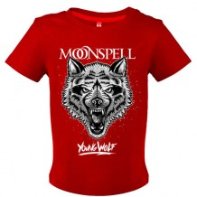 Young Wolf (Red, Baby Tshirt)